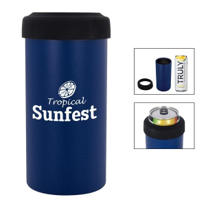 12 oz. SLIM Stainless Steel Insulated Can Holder