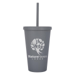 16 Oz. Newport Wheat Travel Tumbler